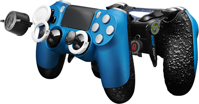 how to hold a scuf controller ps4